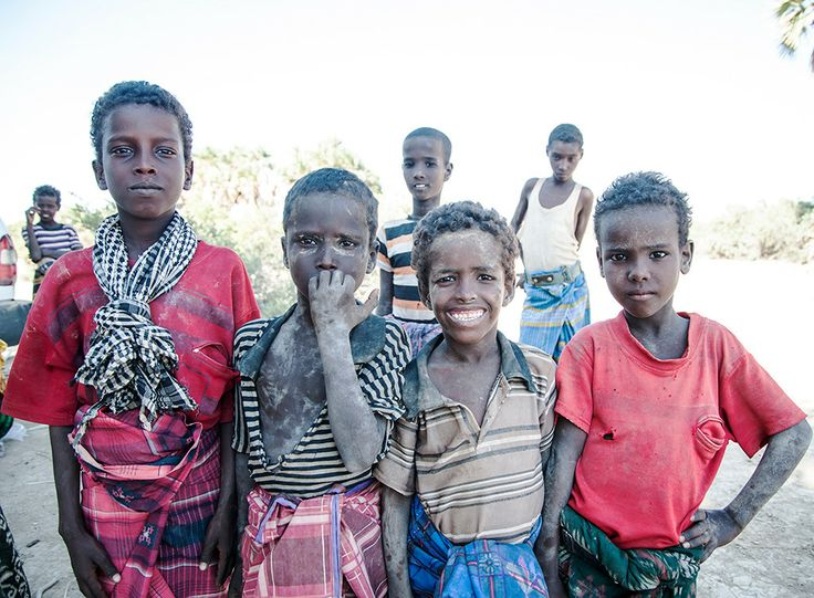 Bambini all'oasi di Waideddo (Etiopia 2013)
