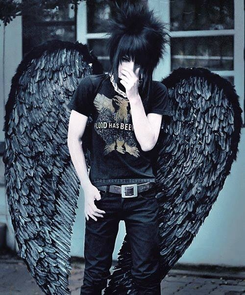 Sexy ^^ #emo #boy #guy #cute #rock #darkangel #dark #style #aww :3