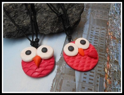 Fimo, necklace