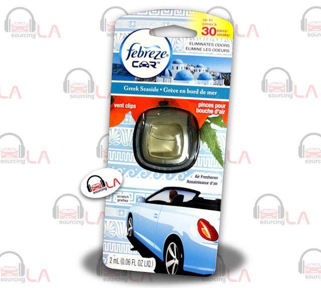 Sourcing-LA: Febreze Car Vent Clips Air Freshner & Odor Elimint...