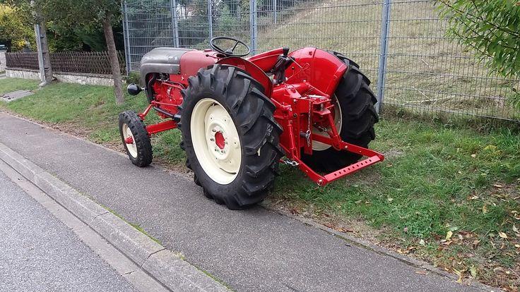 PORSCHE DIESEL 329 Super Export Traktor Schlepper Oldtimer | eBay