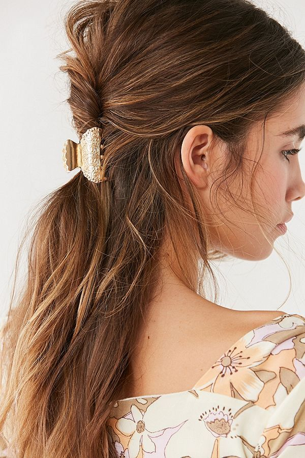 Slide View 2 Cowgirl Claw Clip Clip Hairstyles Headband Hairstyles Hair Lengths