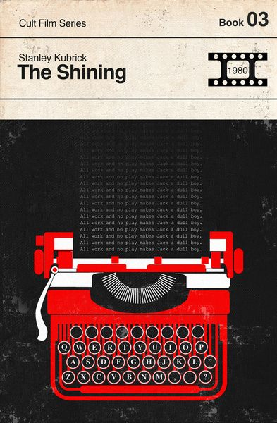 The Shining Modernist Book Cover Series Art Print by Creative Spectator | Society6