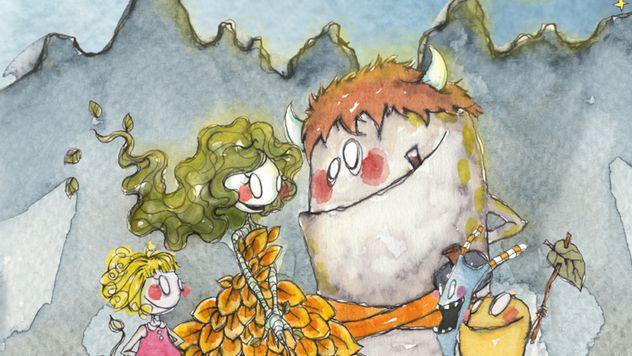 Sammen med Bjørnsonfestivalen arrangerer vi lesestund med noe attåt for barnehager under festivaluka