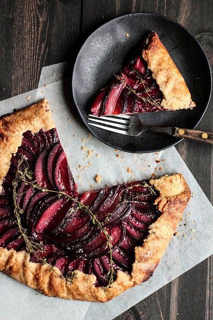 Plum Almond Galette | Pastry Affair