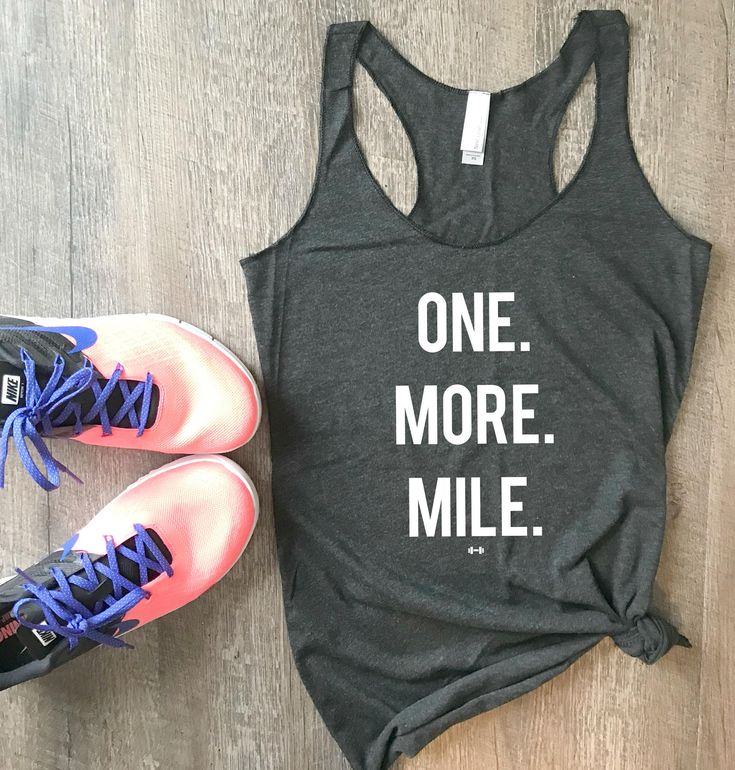 One More Mile Funny Workout Tank, Gym Tank, Womens Workout Tank, Funny Tank, Motivation Tank, Fitness Tank, RunningTank, Funny Running Tank