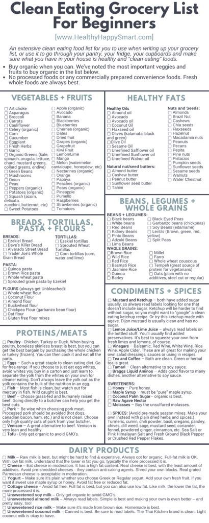 thumbnail of Clean Eating Meal Plan Printable                                                                                                                                                                                 More