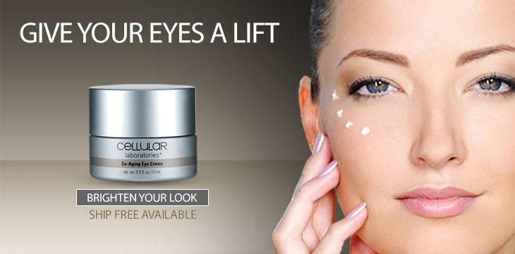 Youthful-looking eyes with Cellular Laboratories