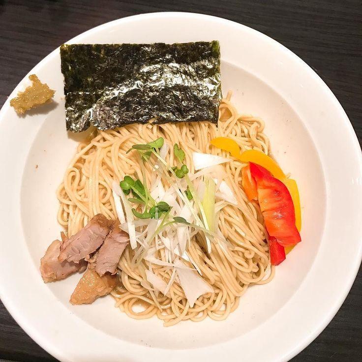 限定まぜそば@伊藤 700円ラーメンよりニボは控えめ  #煮干しラーメン #伊藤 #まぜそば #銀座 #ramen #ラーメン #らーめん #麺スタグラム  #food #tokyo