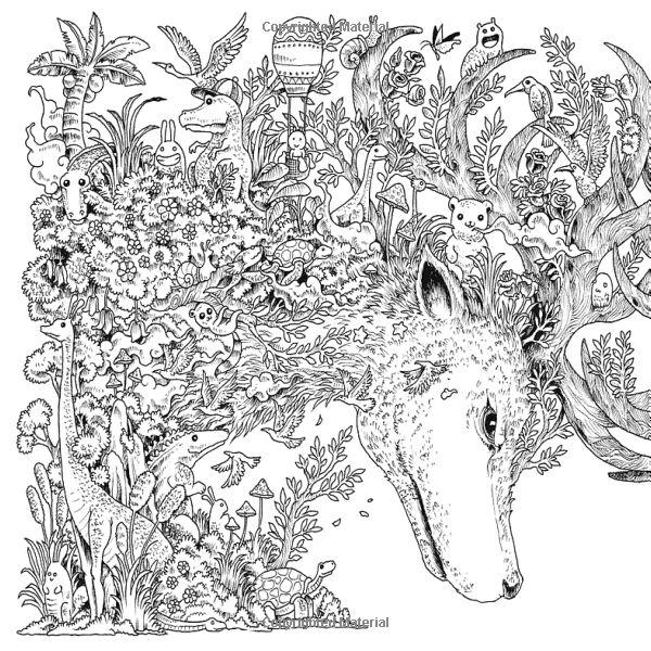 Les 192 meilleures images propos de coloriage doodle sur for Imagimorphia coloring pages