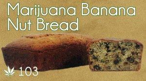 Cannabutter Banana Nut Bread Cooking with #Marijuana #103 Cross Eyed Monkey Bread From #RuffHouseStudios