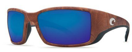Costa Del Mar Sunglasses - Blackfin- Plastic / Frame: Gunstock Lens: Polarized Blue Mirror 580 Polycarbonate