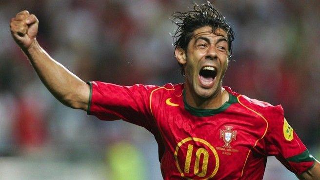 Rui Costa - Benfica, Fafe, Fiorentina, AC Milan, Portugal.
