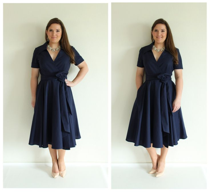 Butterick 5030 in navy linen/cotton. Great fit, no alterations needed!