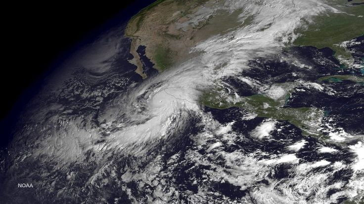 Hurricane Patricia Strikes Mexico With 165 M.P.H. Winds