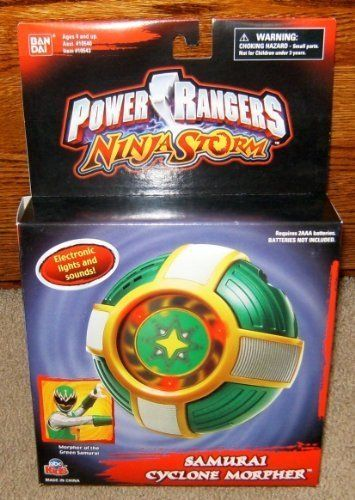 Power Rangers Ninja Storm Electronic Samurai Cyclone Morpher *** Check this awesome product by going to the link at the image.
