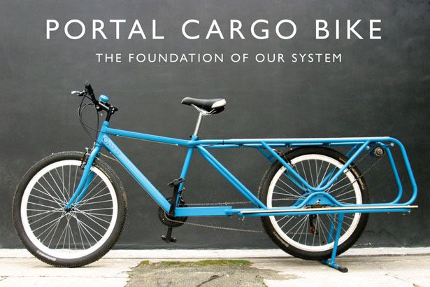 Portal Cargo Bike offers innovative bike design that carries cargo and functions as power machine, it's been developed to transform lives in developing countries.