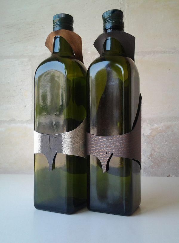 The Olio's • l'oro dei poveri by Ferruccio Venuti, via Behance #packaging #wine