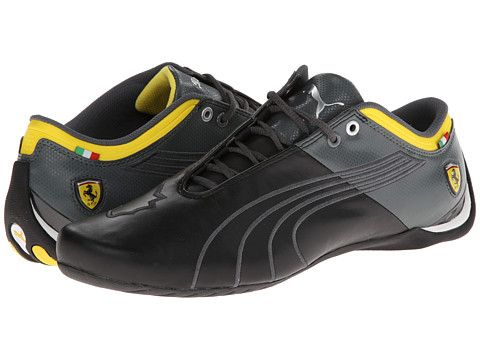 PUMA Future Cat M1 Ferrari Catch Black/Dark Shadow/Vibrant Yellow