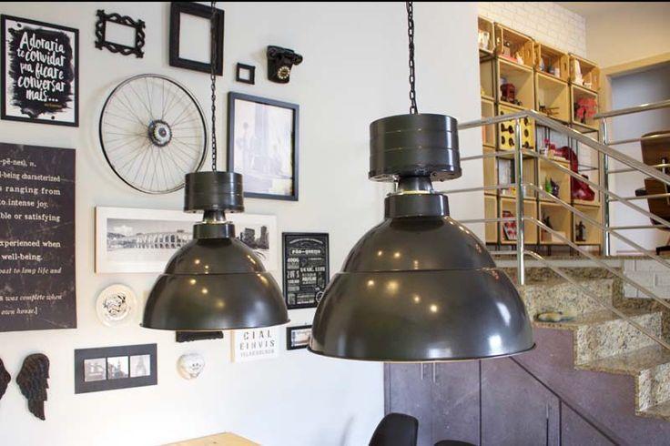 Projeto - Minha Casa (sala e copa) Instalação de Luminárias_ Sala-Copa. Clique e leia na íntegra.