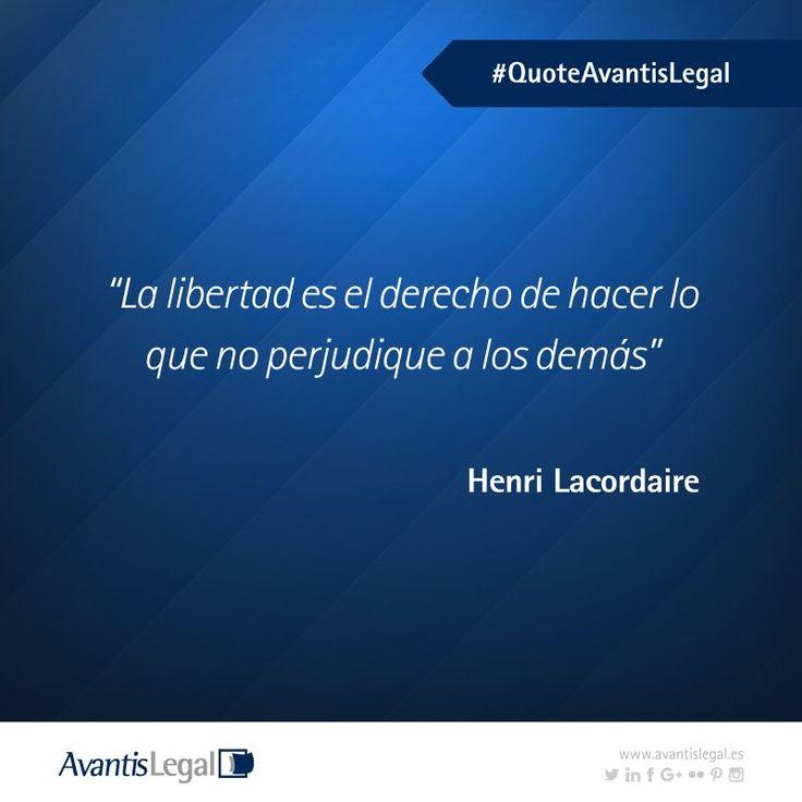 Esta semana reflexionamos sobre la libertad con una cita del filósofo francés Henri Lacordaire. No te pierdas nuestras Frases Célebres favoritas.