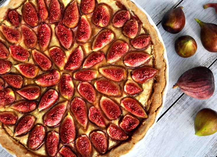 Frangipane Fig Tart!  Bought figs at Costco, and made this for dinner tonight!