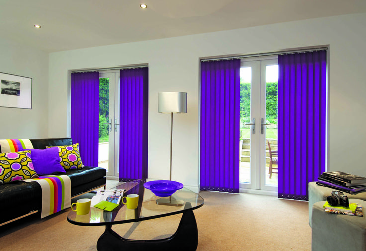 Vertical blinds are just for office windows in a porridge colour...we have a great selection in all colours to match your decor....