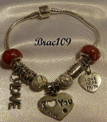 Bracelet Pandora Style #brac109