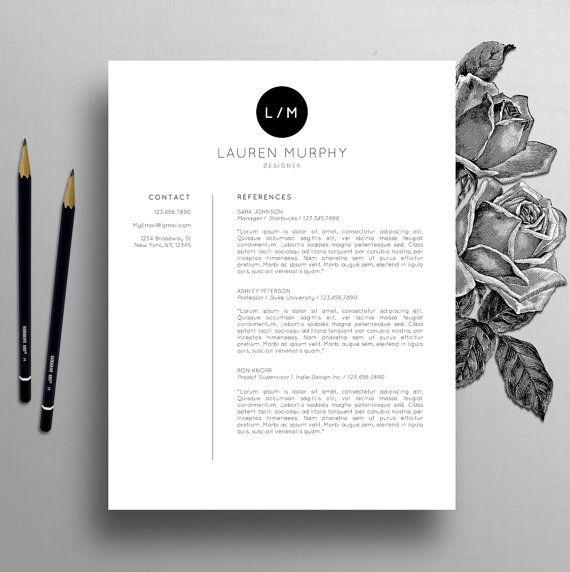 creative resume template   pc template de