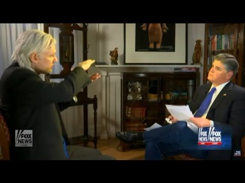 Julian Assange Interview with Sean Hannity 1/3/2017  FULL