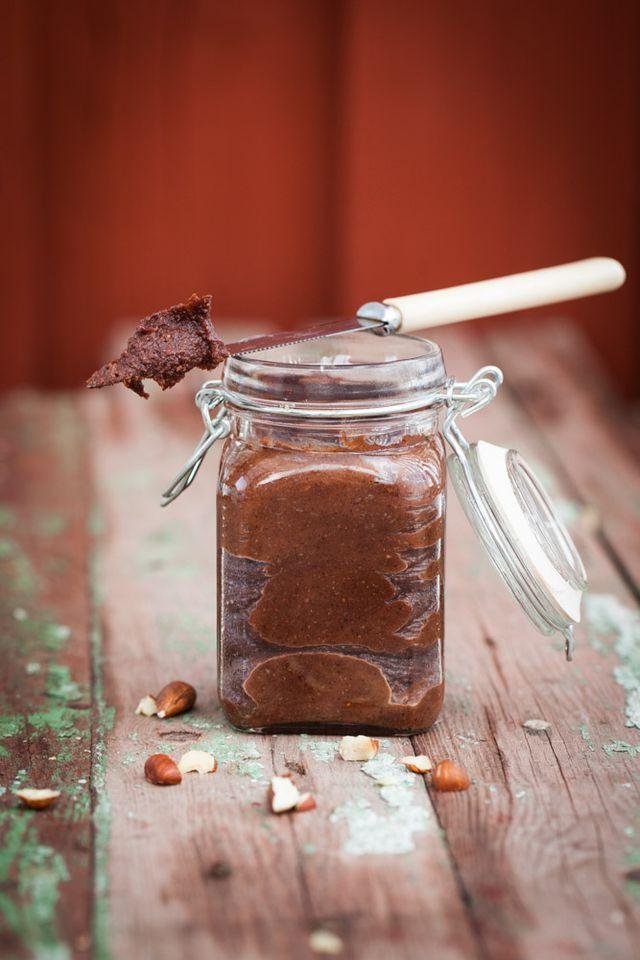 Hemgjord nutella | Linnéas Skafferi | Bloglovin'