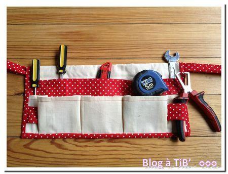 ceinture porte-outils à refaire pour mon fils