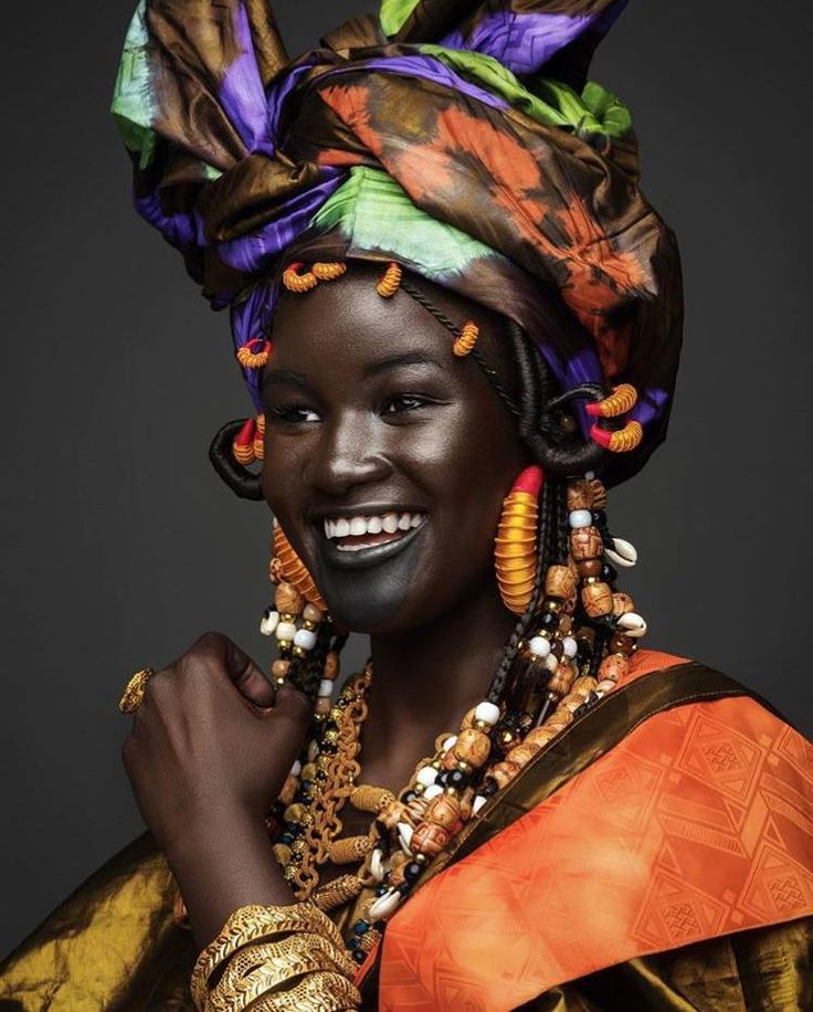 Wolof Woman-Lady of Senegal http://turbanista.com/