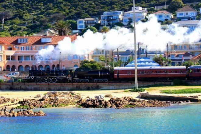 #12 #1000thingstodo #capetown Catch a steam train ride from Cape Town with Atlantic Rail  Traveling between the famous Newlands Rugby Stadium & Newlands Cricket Ground in Cape Town, Western Cape to Muizenberg. Then on to False Bay where the view of the ocean is spectacular, Kalk Bay, snaking through Fish Hoek & Glencairn, finally coming to an end in Simon's Town with a view of the Naval dockyard.   I <3 Cape Town