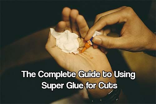 For those who are new to the concept, or who have heard about it but haven't yet given it a shot - read up about how and when to use super glue for cuts.