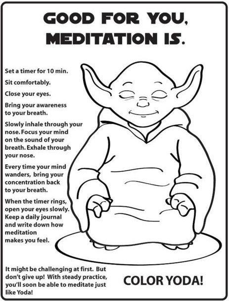 Yoga India Sanskrit Coloring Pages Meditation Happiness Colouring Bonheur Printable Books