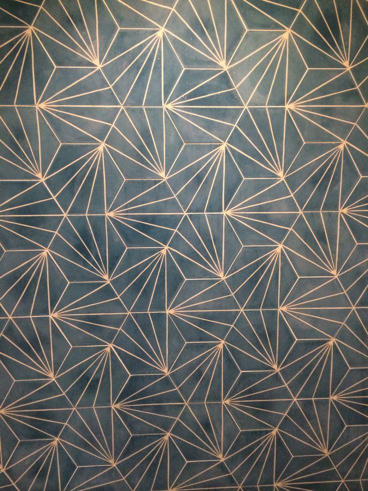 Dandelion - azure/milk - Collection 2012 - Marrakech Design is