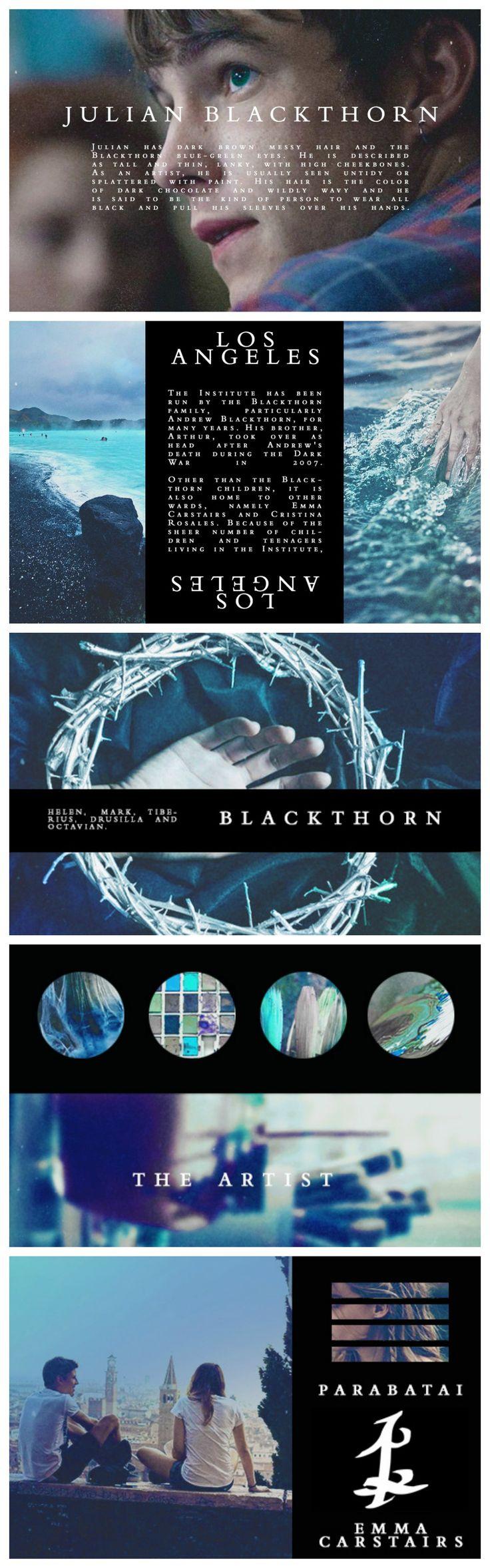 Julian Blackthorn - the sworn protector.                                                                                                                                                                                 More