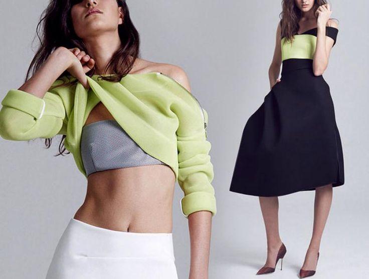 Безупречные наряды австралийского дизайнера Toni Maticevski: простые линии и…