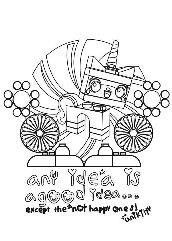 Dibujos para imprimir La lego pelicula