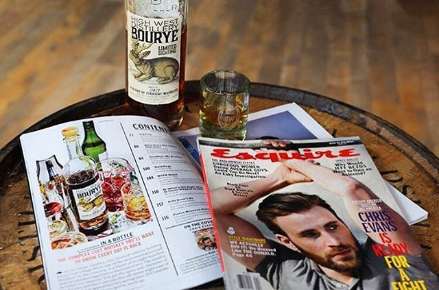Congrats to our clients at High West Distillery for this great mention of their Bourye bourbon-whiskey iteration in @esquire! (#repost @drinkhighwest) by gathertech.  rp #atltech #highwest #drinkstagram #goodlibations #craftcocktails #esquire #drinkup #repost #whiskey #cocktails #clientlove #imbibegram #liquor #drinkhighwest #eventprofs #bourbon #cheers