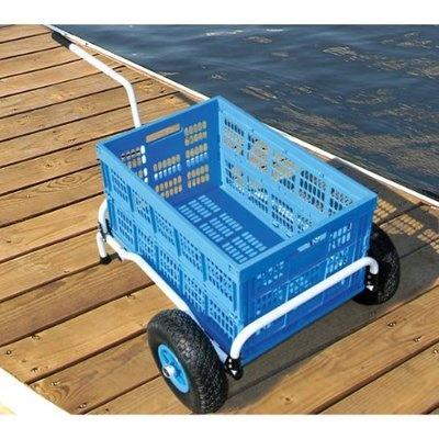 Beach cart.