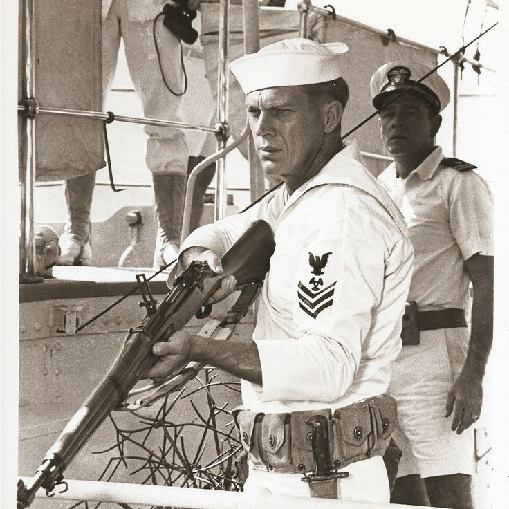 Steve McQueen for The Sand Pebbles directed by Robert Wise, 1966
