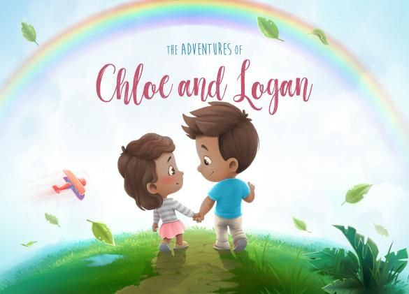 Personalized Sibling Poems The Adventures Of Chloe Logan Personalized Books For Kids Custom Kids Book Personalized Books