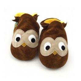 {LittLe} Brown Owl {Soft Cotton} Shoes