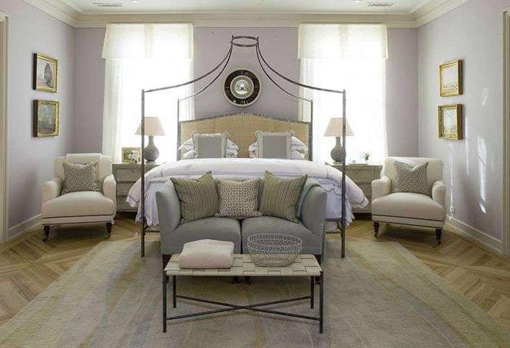 Idee per arredare la camera da letto con il color lavanda - Camera da letto accogliente