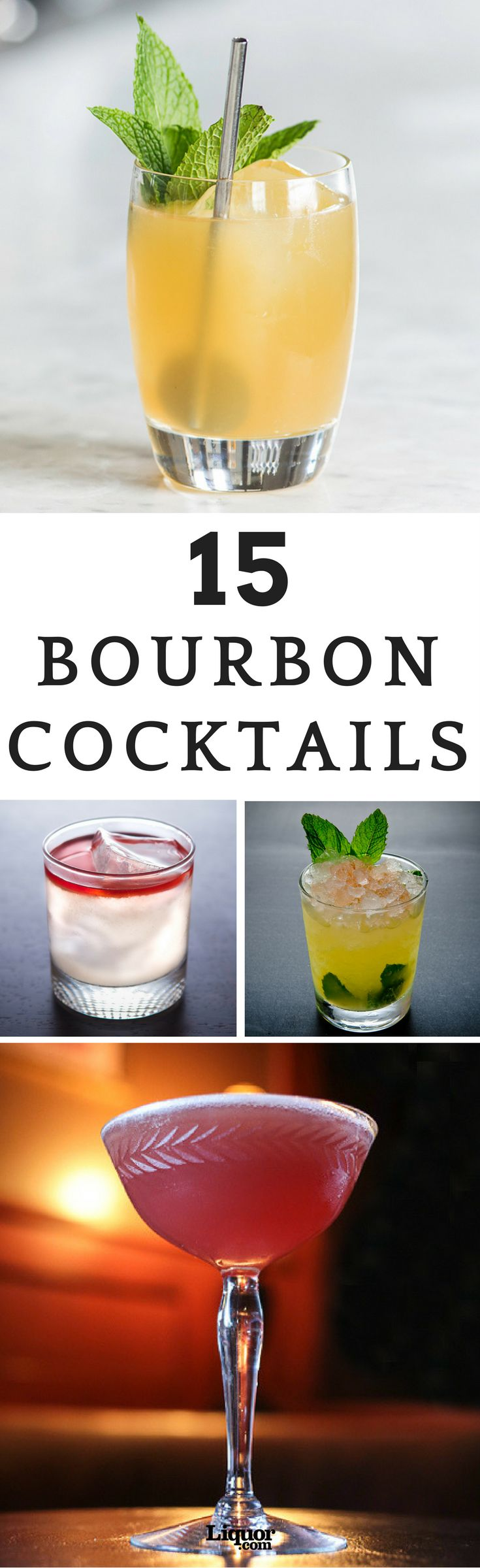 Bourbon drinks may lead to a purist telling you that adding even a drop of water will ruin the whiskey's flavor, but that's just one of the many myths surrounding the spirit. Try some of our favorite bourbon drinks today—you can thank us later!