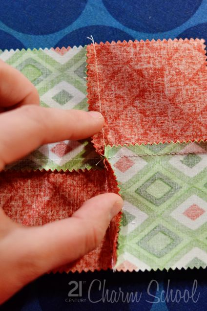 Tutorial: How to make a perfect four-patch quilt block | the studio blog