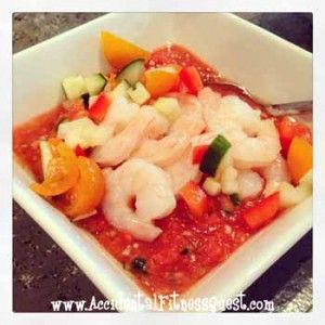 Grilled Shrimp Gazpacho | Recipes | Pinterest