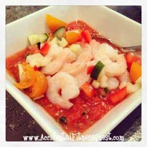 Grilled Shrimp Gazpacho   Recipes   Pinterest